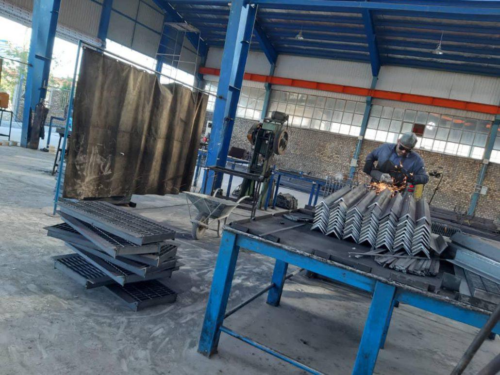 پروژه گریتینگ فولاد اردکان-04